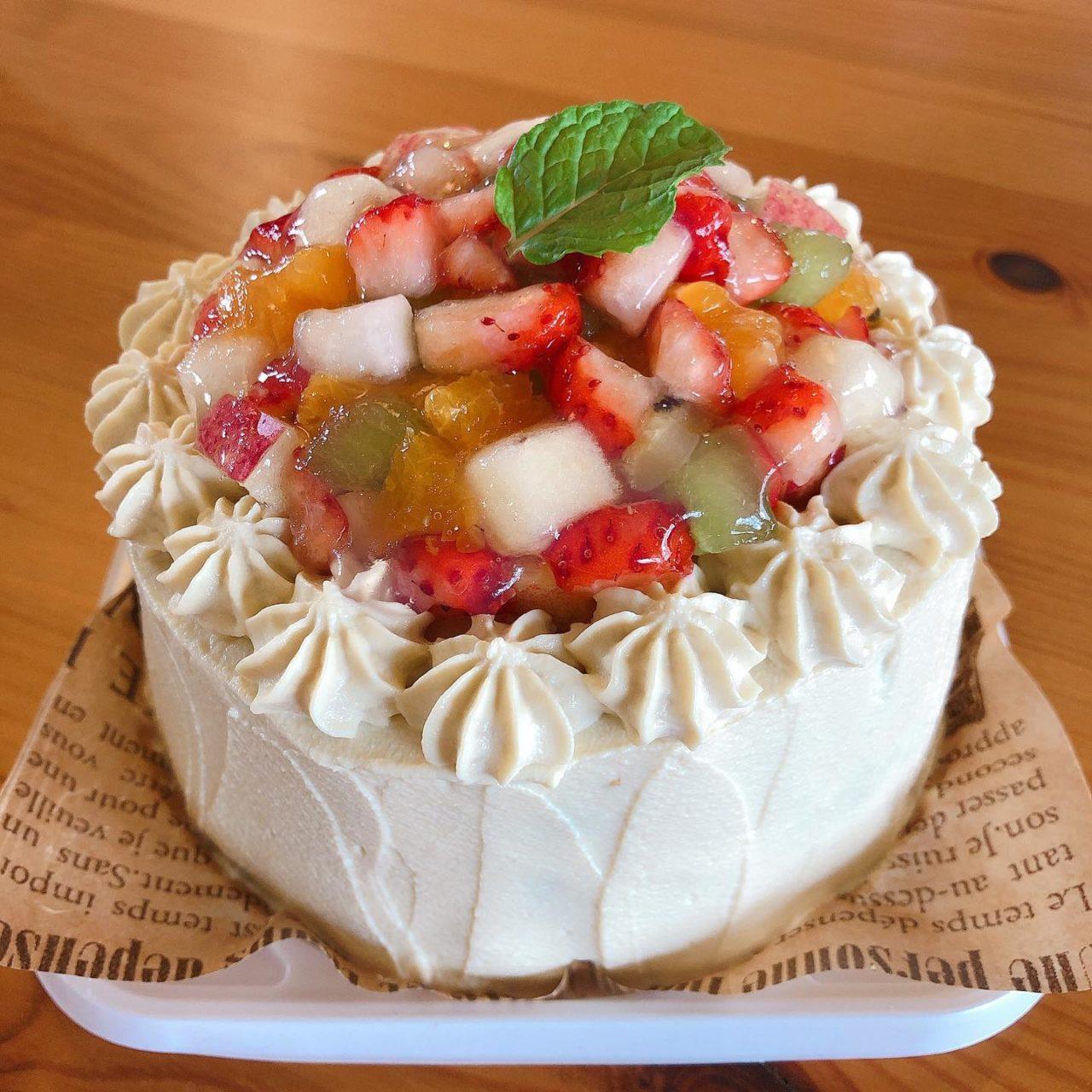 フクシアwanケーキ